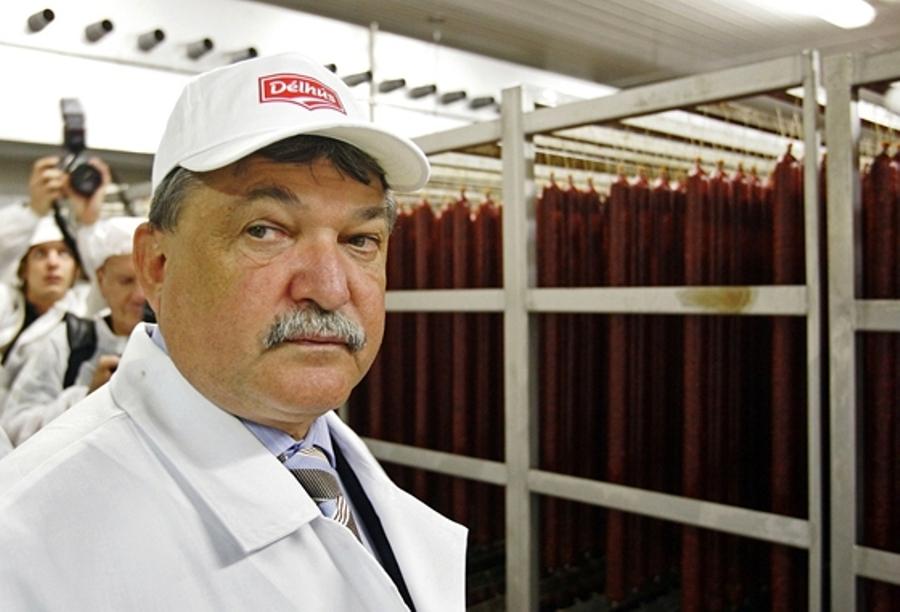 Csányi Sándor nagybirtokos, élelmiszeripari mogul és már csak mellesleg bankár