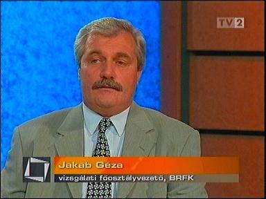 Jakab Géza nyugalmazott tábornok ma az OTP bankbiztonsági igazgatója Fotó: TV2.hu