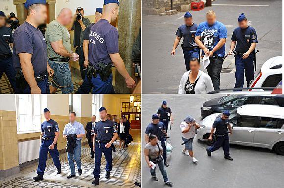 Az előzetes letartóztatásról döntő bírósági tárgyalásra viszik a gyanúsítottakat még tavaly  Fotó: PS
