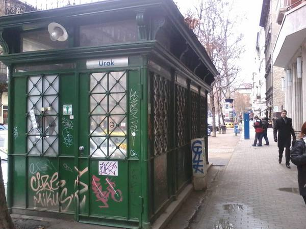 A Beetz-féle nyilvános-wc a Nagymező utcában...