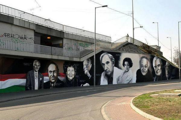 Nemzet Színészei, Lágymányosi híd