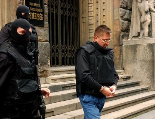 Leonyid Stecurát, azaz Loncsikot végül a magyar rendőrök lekapcsolták, a bíróság elítélte, majd kiutasították az országból Fotó: MTI