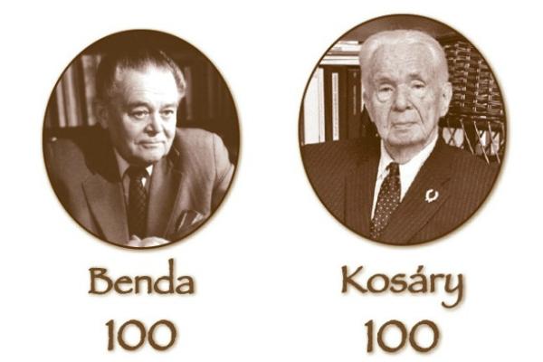 Benda Kálmán és Kosáry Domokos / forrás: Nekb.gov.hu