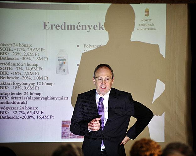 Szócska Miklós levelében nem is dícsérte az eljárás hasznosságát Fotó: nol.hu