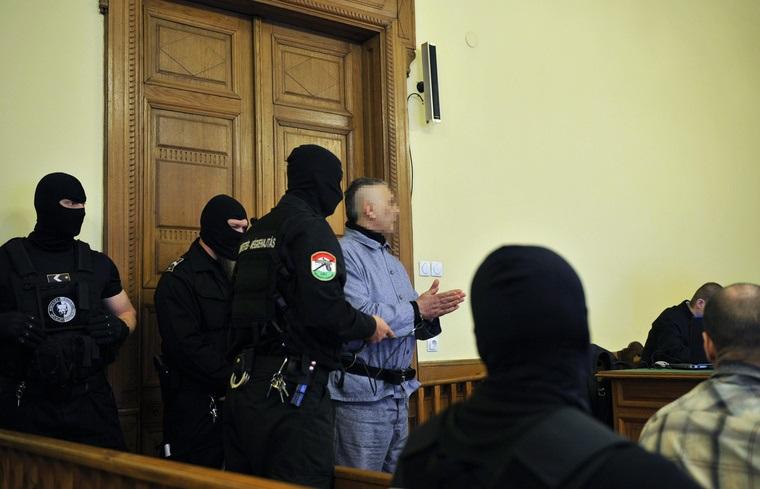 Tasnádi Pétert áprilisban tanúként hallgatták meg a Fenyő-gyilkosság perén a Fővárosi Törvényszéken Fotó: MTI