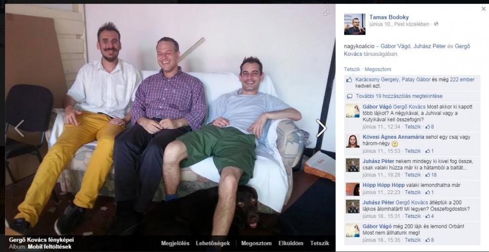 Együtt szívunk, együtt nevetünk! - Juhász Péter, Kovács Gergő blogger és az ex-LMP-s  Vágó Gábor