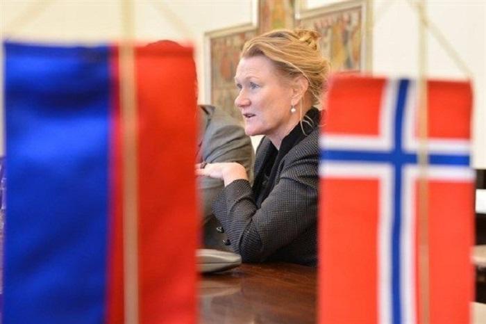 Tove Skarstein budapesti norvég nagykövet Fotó: Hír24.hu