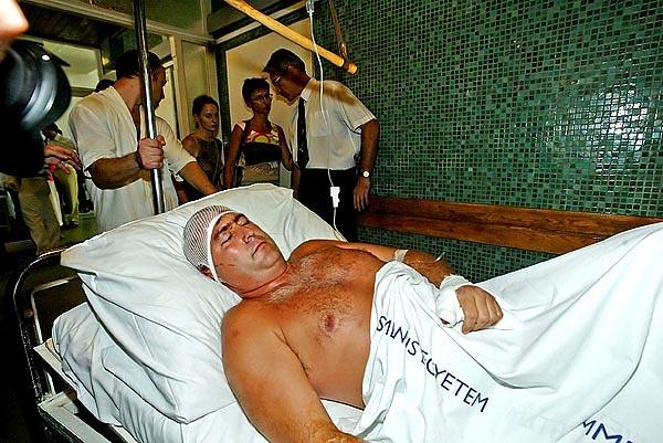 Szász Károly feldobta a Pannonplast-ügyet. Röviddel később, 2003. június 16-án hajnalban máig ismeretlen személyek egy bottal összeverték - Fotó: Népszabadság