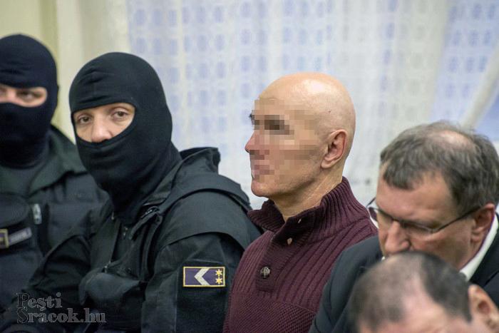 A sikeres merényletért Jozef Rohác a vád szerint 50 millió forintot kapott Portik Tamástól. Fotó: Mészáros Péter/PestiSrácok.hu