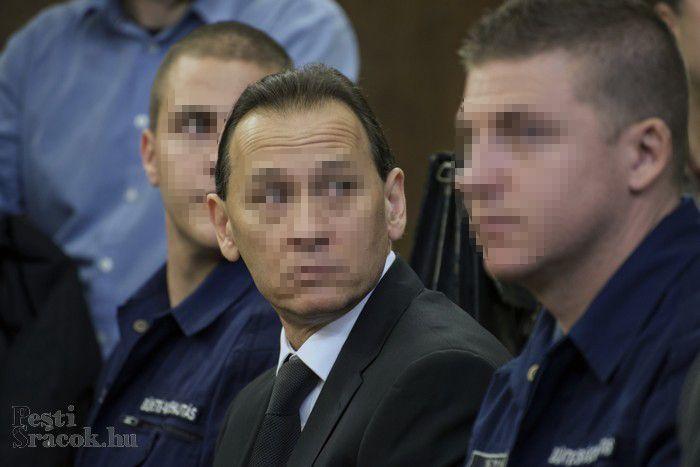 A vád szerint Vizoviczki volt a feje az általa létrehozott és irányított bűnszervezetnek. Fotó: Mészáros Péter/PS