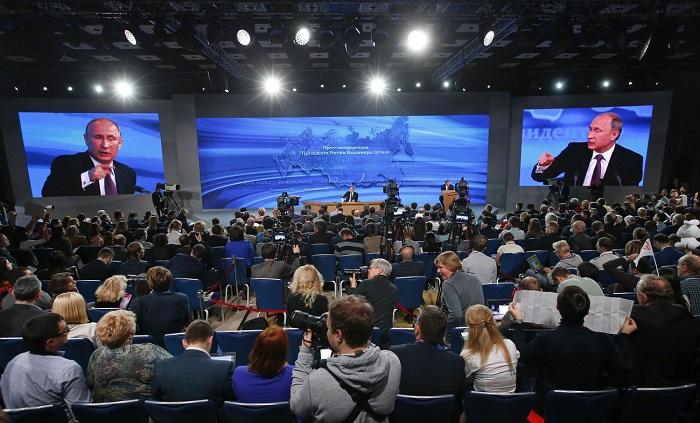 Német lapok szerint Putyin az unió belső bomlasztását várja el az általa bőkezűen támogatott szélsőjobboldali pártoktól. Fotó: Reuters