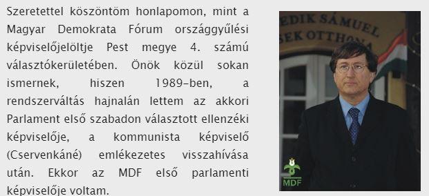 Roszik Gábor honlapja (volt) / Forrás: Www.bortontarsasag.hu