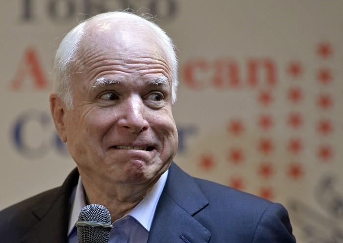 Политика: Маккейн признал, что Президент РФ ведущий игрок на Ближнем Востоке