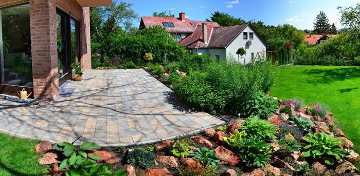 Ez itt a kert! Fotó: ingatlan.com