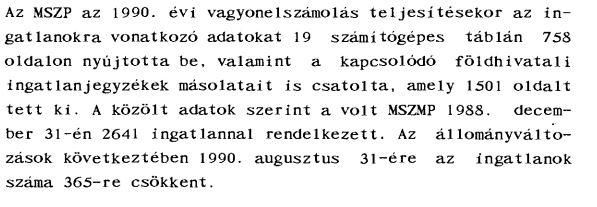 Komoly, géppel írt jelentés / Forrás: Asz.hu