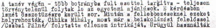 """""""Folytatta ellenem"""" /Forrás: Mol.hu, Hamvas"""