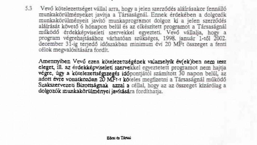 """Óh, az a csodás Horn-kormány! Ki más is szignálta volna a szerződéseket, mint az SZDSZ-es Eörsi Mátyás és a """"körömtépő"""" öreg ÁVH-s Bauer Miklós közös ügyvédi irodája"""