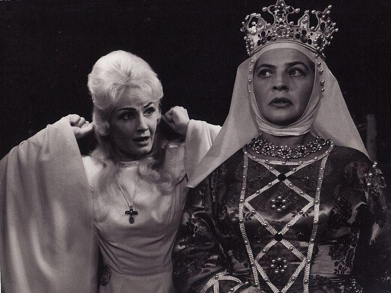 Csak 1957 után léphetett fel újra: Déva Camilla Demeter Hedvig / Fotó: Magyar Színházi Portál