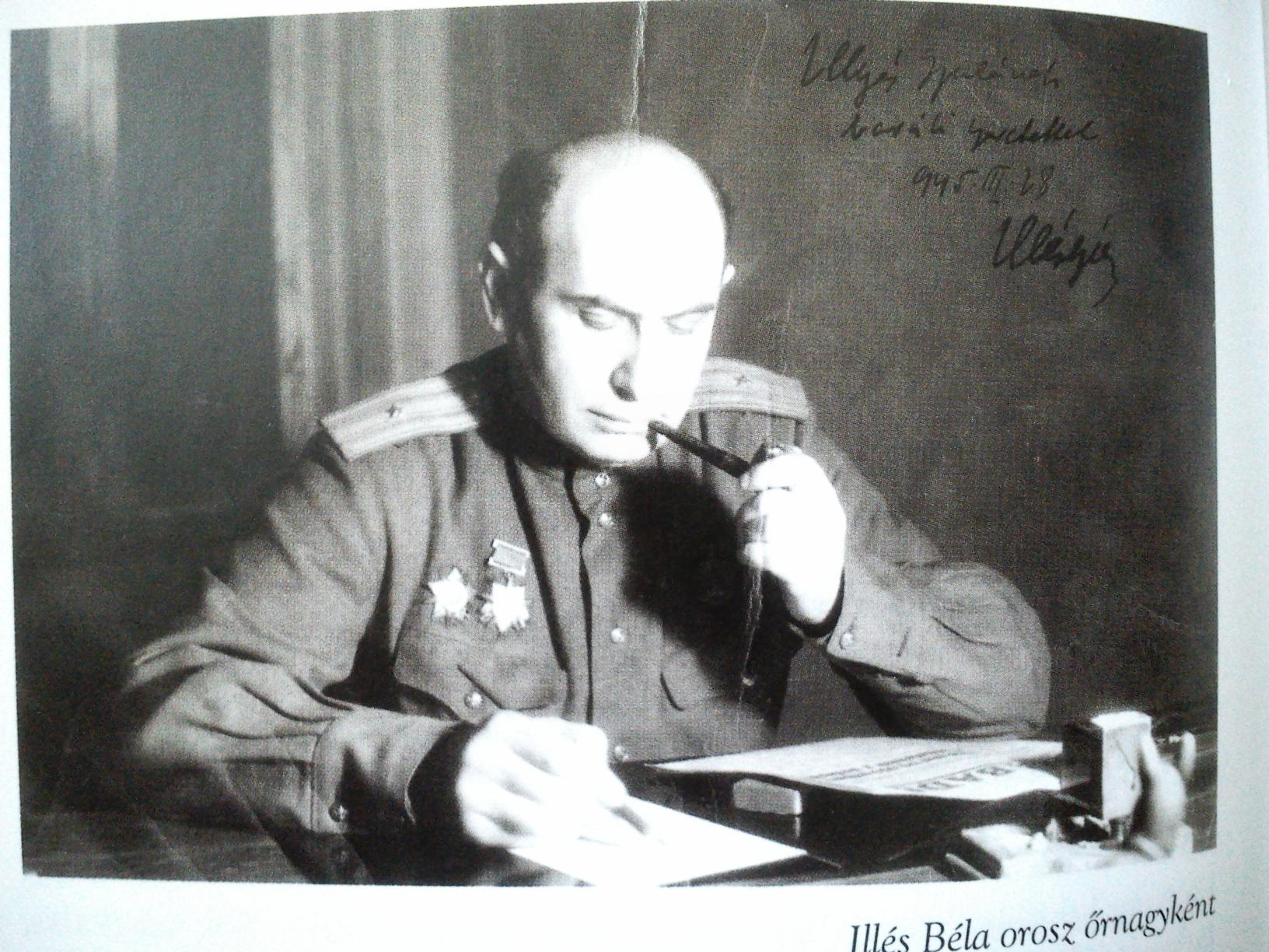 Illés Béla, a szovjet katona /Fotó: Pavelolvas.hu