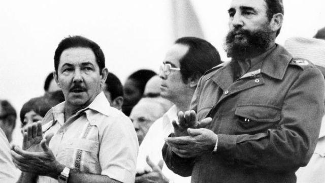Házigazdák: Raul és Fidel Castro a VIT-en / Fotó: Theseatonpost.com