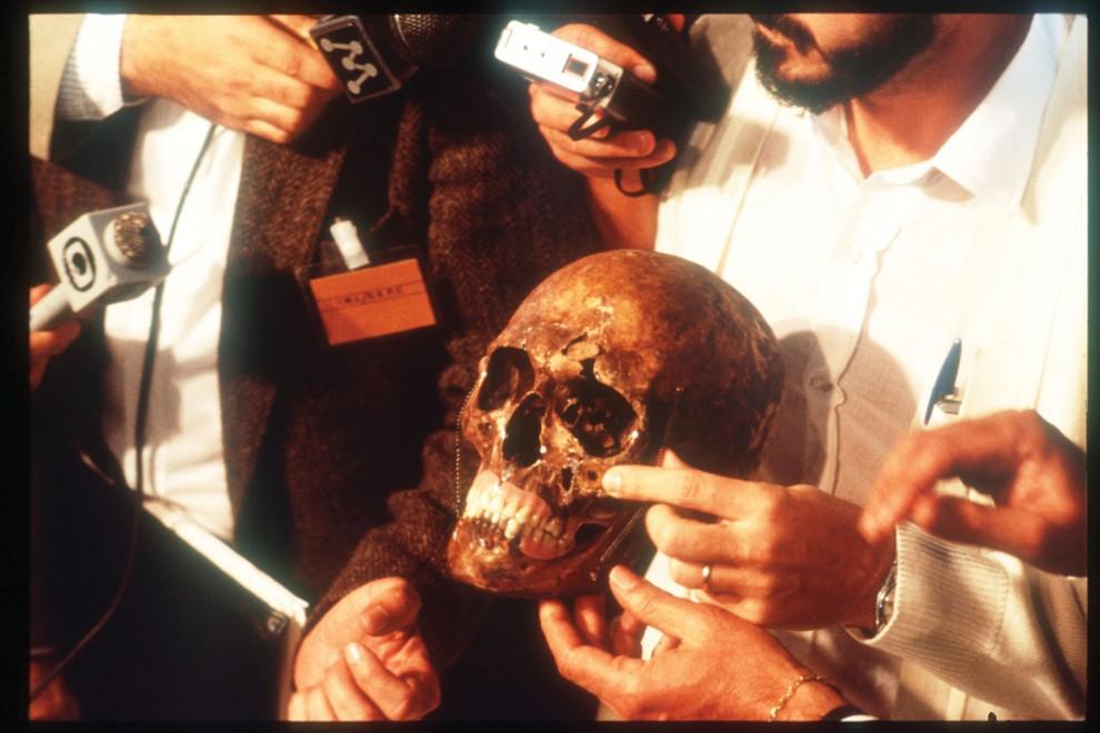 Mengele koponyája? / Forensic-architecture.org