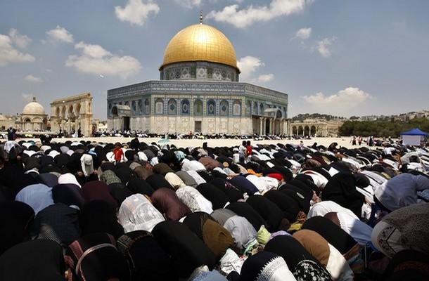 Az iszlám harmadik legszentebb helye, az Al-Aksza-mecset Jeruzsálemben