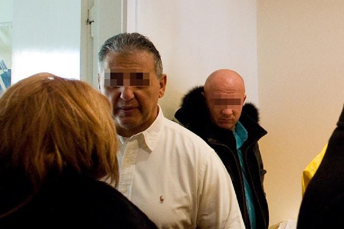 Tasnádi Péter és testőre, A. Gábor - Mindketten terhelő vallomást tettek Gyárfásra. Fotó: Index.hu/PS