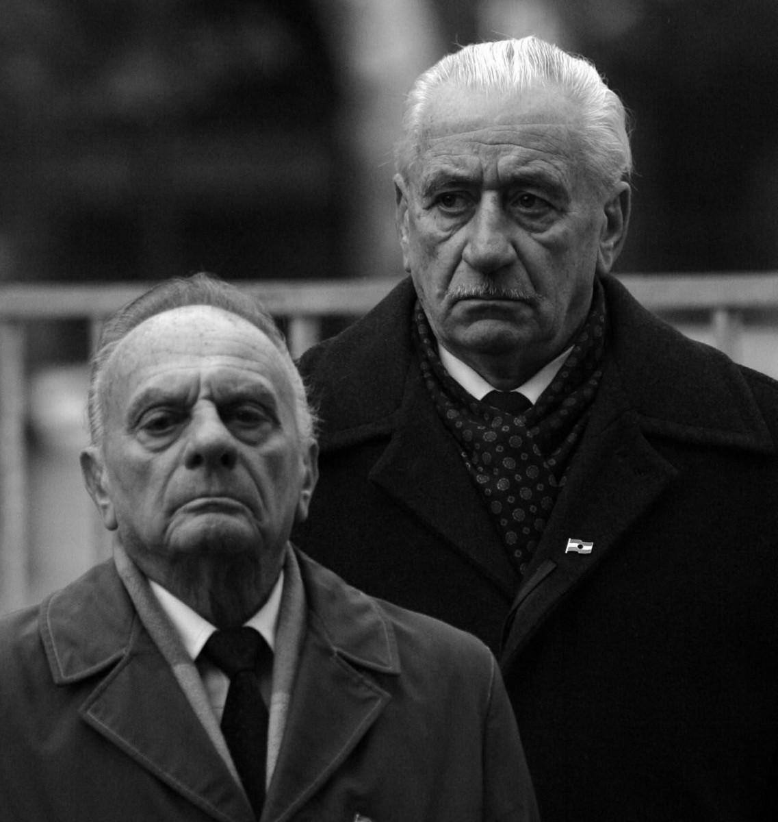 Vanek Béla és Rácz Sándor / Fotó: MTI