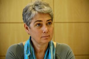 Herczog Mária, a CRC tagja. Fotó: Amdala
