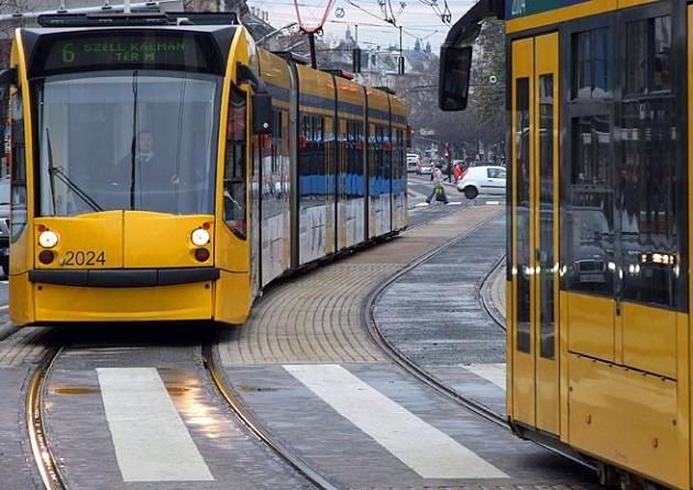 A budai fonódó villamoshálózat mintájára kapcsolódna be közvetlenül Csepel a belvárosi közlekedésbe. Fotó: MTVA/Jászai Csaba
