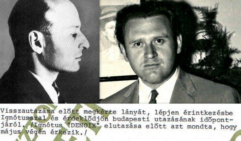 Kutasi Kovács (jobbra) jelenti Ignotus Pálról (balra) / Montázs: PS