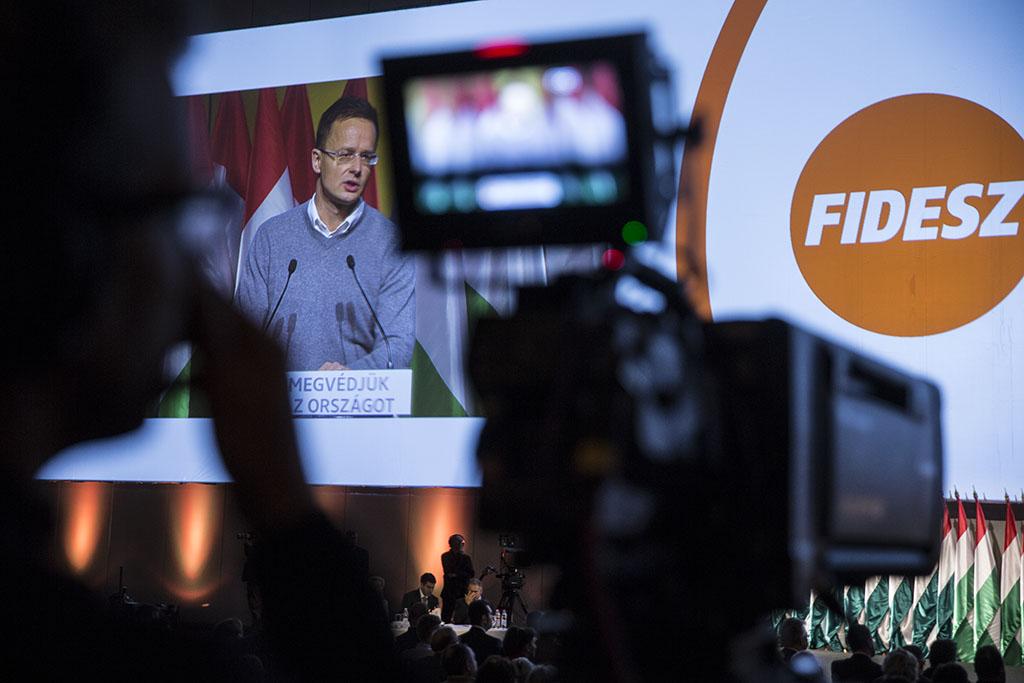 Szijjartó Péter Fidesz Konferencia 2015 foto:Horváth Péter Gyula