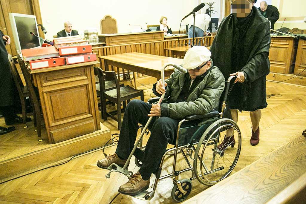 Biszku Béla a tárgyaláson / Fotó: Horváth Péter Gyula