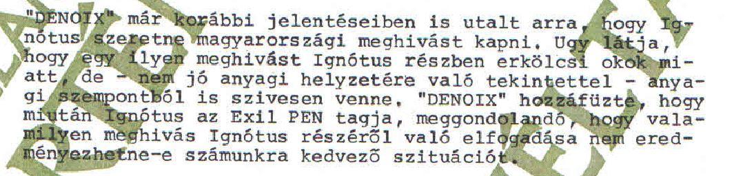 Kutasi Kovács már a tervet is kidolgozta / Forrás: ÁBTL