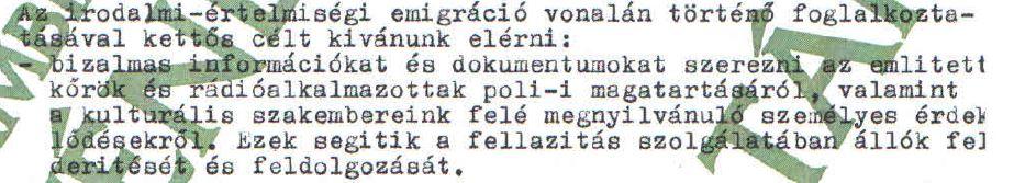 Kutasi Kovács egyik feladata: beépülni mindenhová / Forrás: ÁBTL