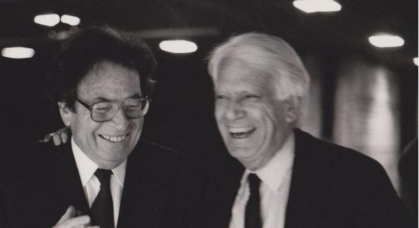 Konrád és Jorge Semprún / Fotó: PIM.hu