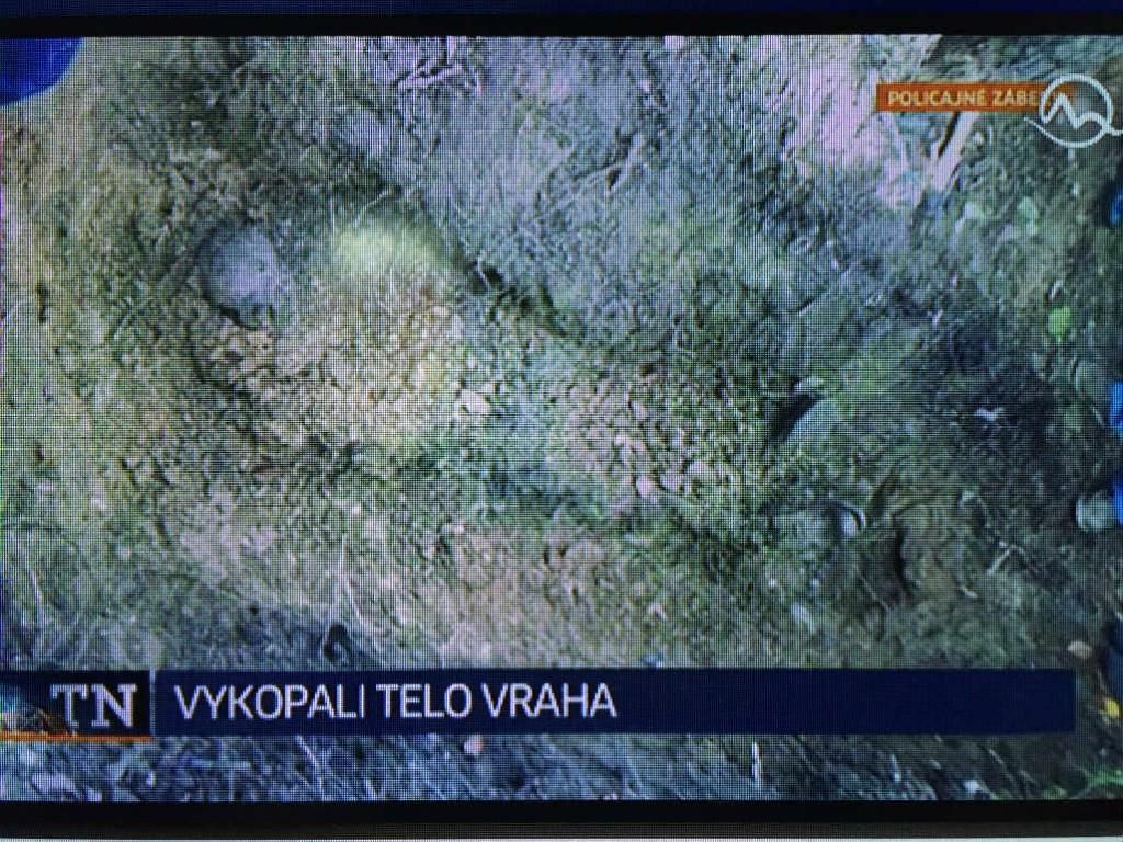 A híradóban bemutatták Hamala elásott maradványait Fotó: PS