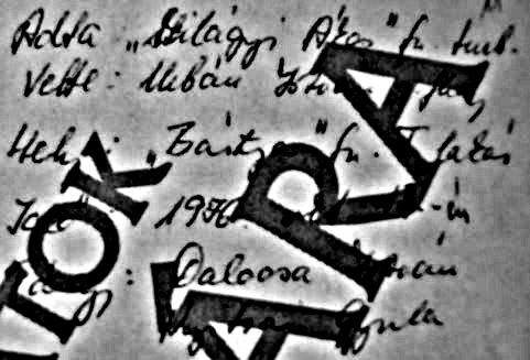 """Találkák a """"Bástyá""""-ban / Forrás: ÁBTL"""