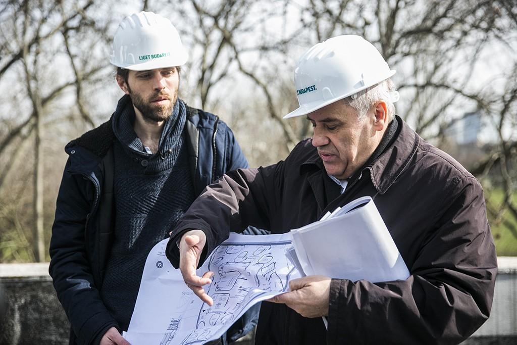 A Liget Budapest Projekt részeként hamarosan megkezdődik a Hungexpo romos épületeinek bontása, a helyén a Magyar Zene Háza épül majd fel. Fotó:Horváth Péter Gyula