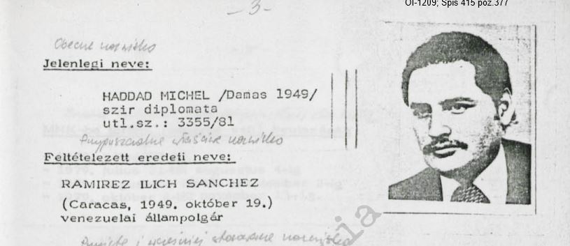 Carlos dossziéja / Forrás: Hamvas Intézet