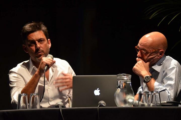 Frilet (jobbra) már megbecsült fotósként / Forrás: A-l-oeil.info
