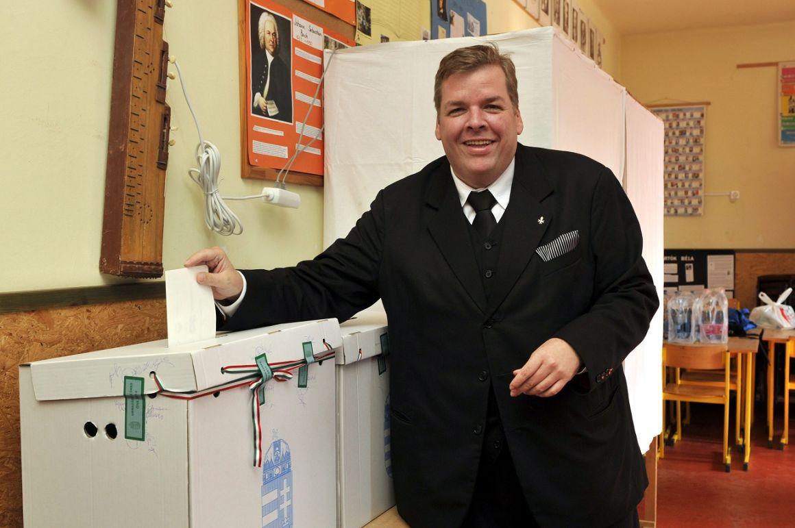 Schmuck Andor. a Szociáldemokraták Magyar Polgári Pártjának vezetője / Forrás: MTI