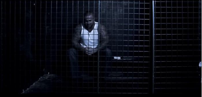 Gotti saját videóklipjeiben rendszeresen ott tűnik föl, ahová most került: a börtönben Fotó: youtube.com