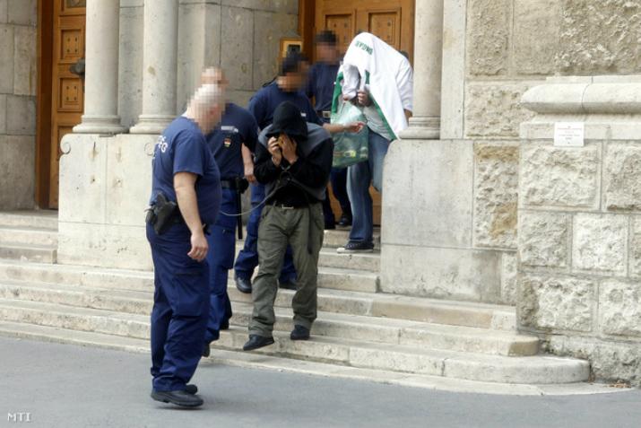 A vádlottakat a nyomozás elején előzetes letartóztatásba is helyezték Fotó: MTI