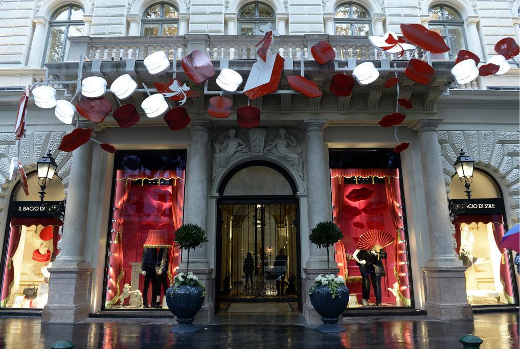 A luxusáruház néhány évig volt csupán nyitva Fotó: univpecs.hu