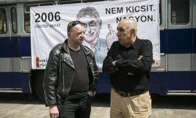 A PestiSrácok.hu szerkesztőségének Öszödi járata 2016.05.26. Fotó: Horváth Péter Gyula