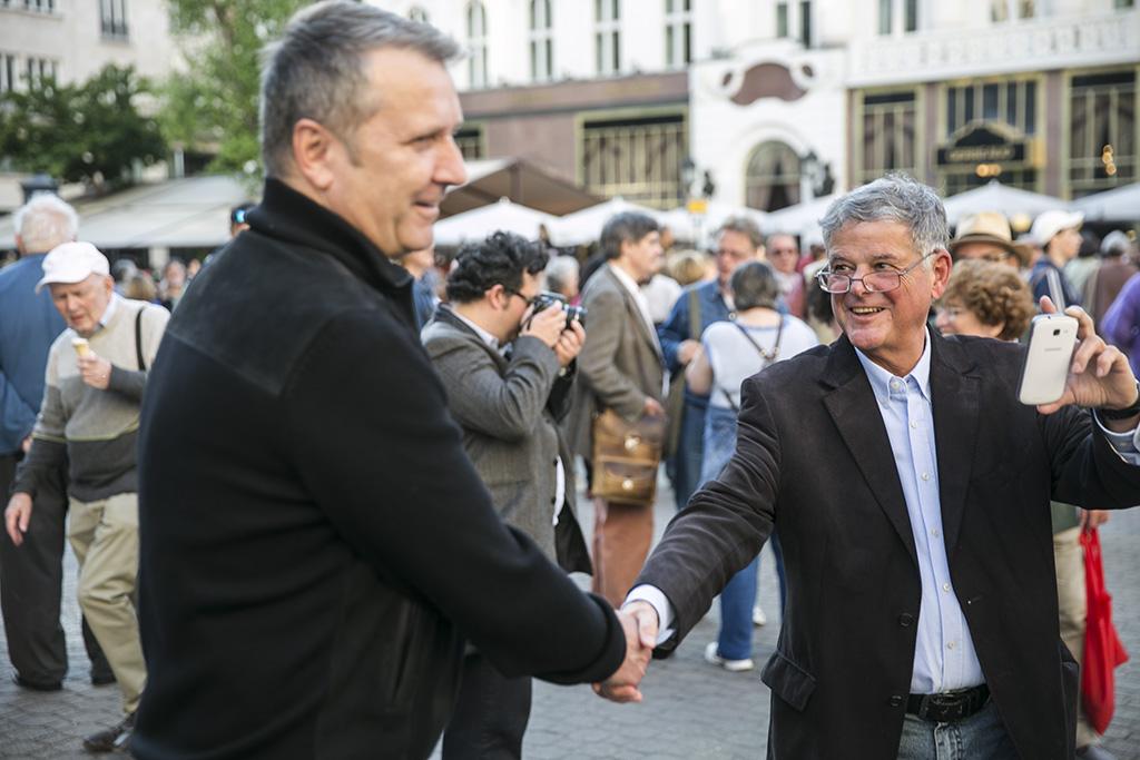 Molnár Gyula és Kökény Mihály (fotó: Horváth Péter Gyula)
