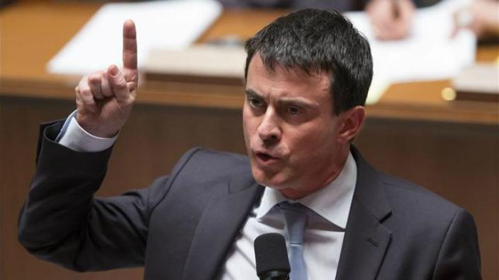 A francia miniszterelnök, Manuel Valls megkönnyebbülését fejezte ki, hogy a szélsőségesség és a populizmus nem nyerte meg Ausztria többségét. Fotó: eldiario.es