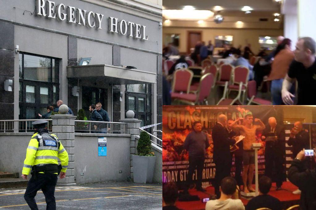 Montázs a merényletről / Fotó: Irishmirror.ie