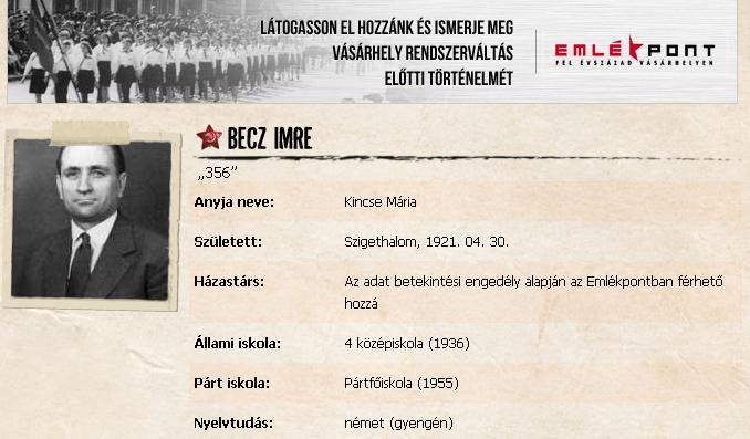 Tanult ember: pártfőiskola, német gyengén / Forrás: Szigoruantitkos.hu